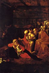 The Adoration of the Shepherds, Caravaggio